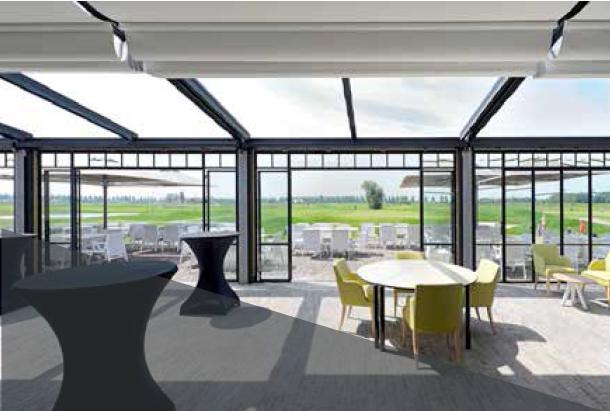 Pergola à toit retractable Extérieur Confort Valence Montélimar