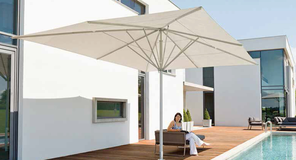 parasol pour terrasses de piscines ext rieur confort. Black Bedroom Furniture Sets. Home Design Ideas